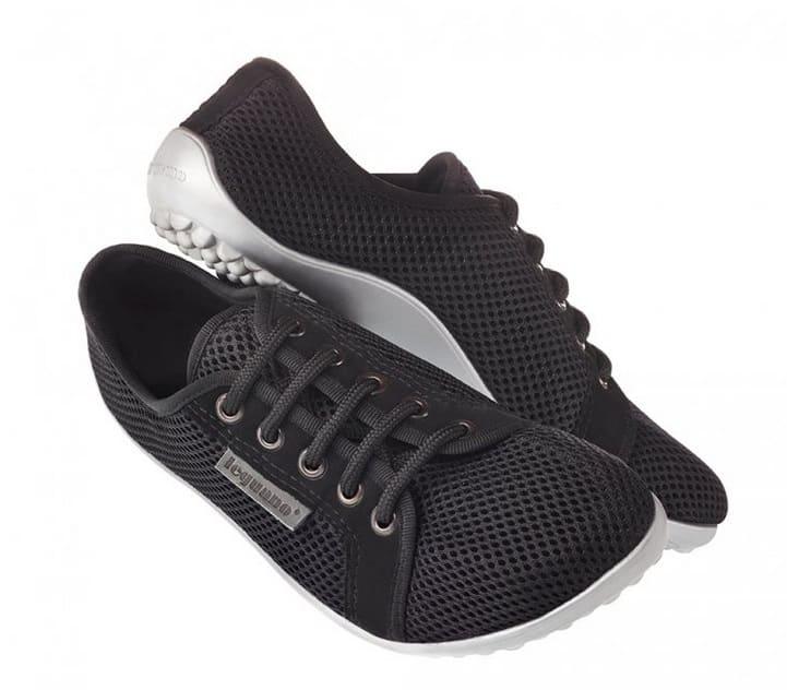 33beaf241a Home eShop Topánky pre dospelých Tenisky Leguano – Aktiv – lávové čierne –  šedá podrážka