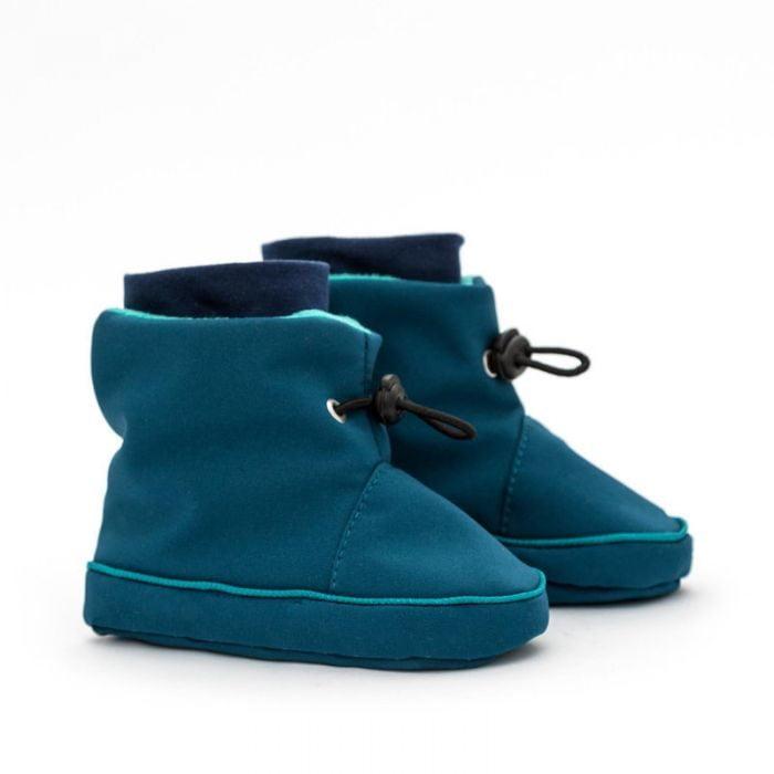 liliputi booties azure turquoise
