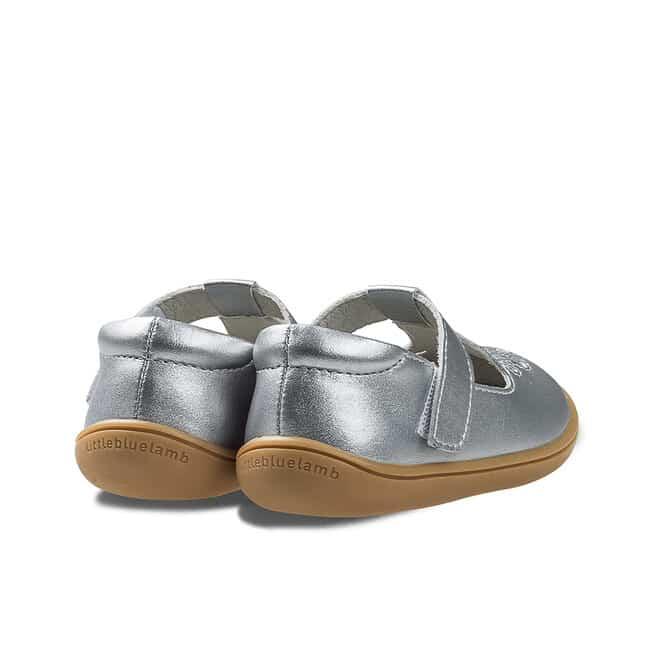 Little Blue Lamb - Perla silver - Sandálky 2