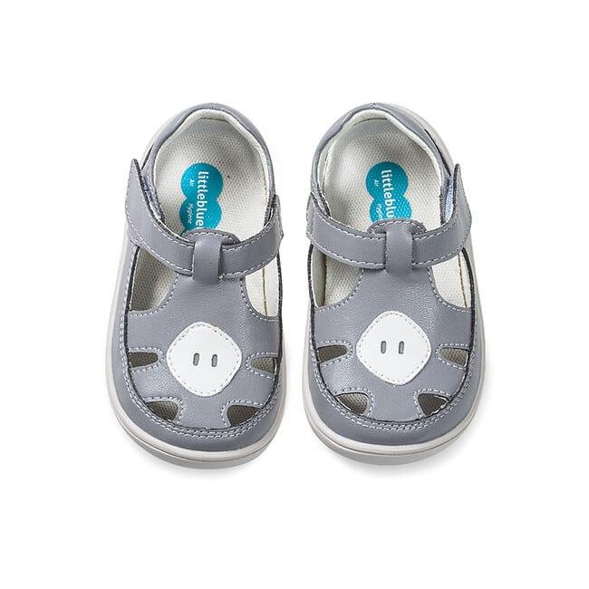 Little Blue Lamb - Padi grey - Sandálky 3