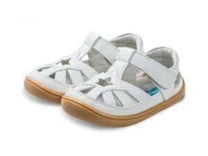 little blue lamb sandalky barefoot panga white