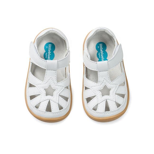Little Blue Lamb - Panga White - Sandálky 3
