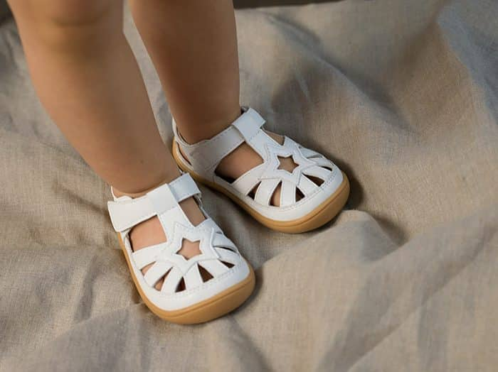 Little Blue Lamb - Panga White - Sandálky 4