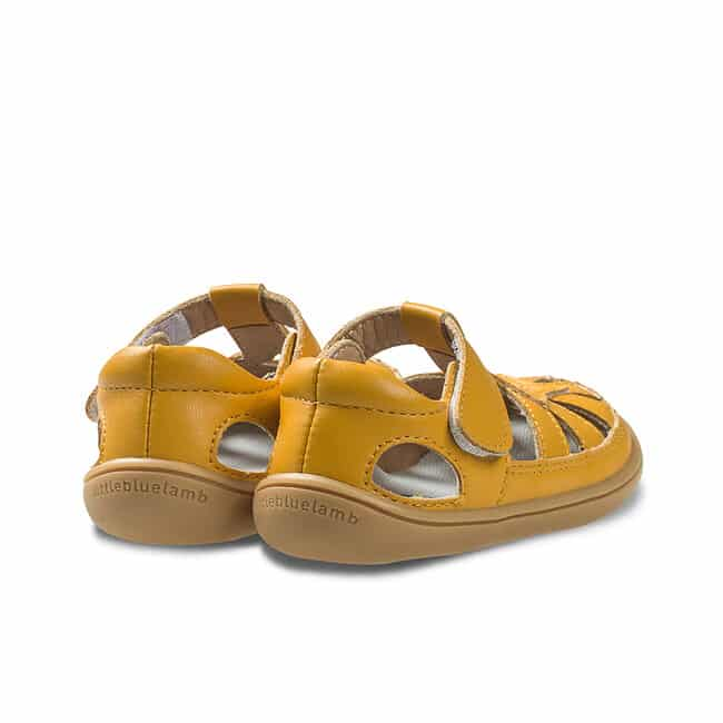 Little Blue Lamb - Panga Yellow - Sandálky 2