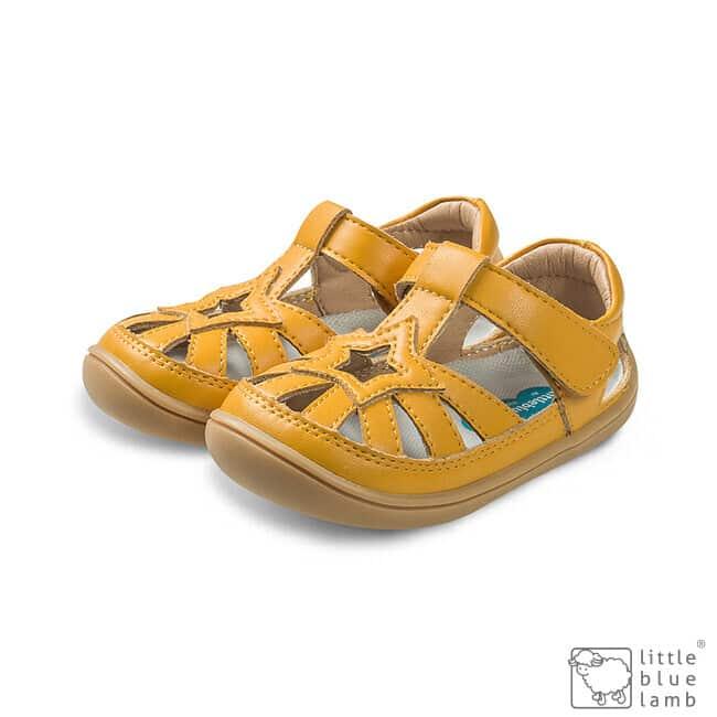 little blue lamb sandalky barefoot panga yellow