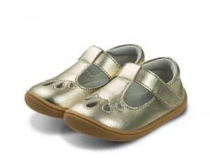 little blue lamb sandalky barefoot perla gold