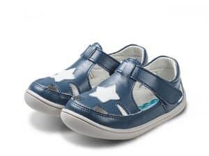 little blue lamb sandalky barefoot port navy