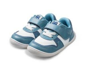 little blue lamb tenisky barefoot prve kroky detske paros blue