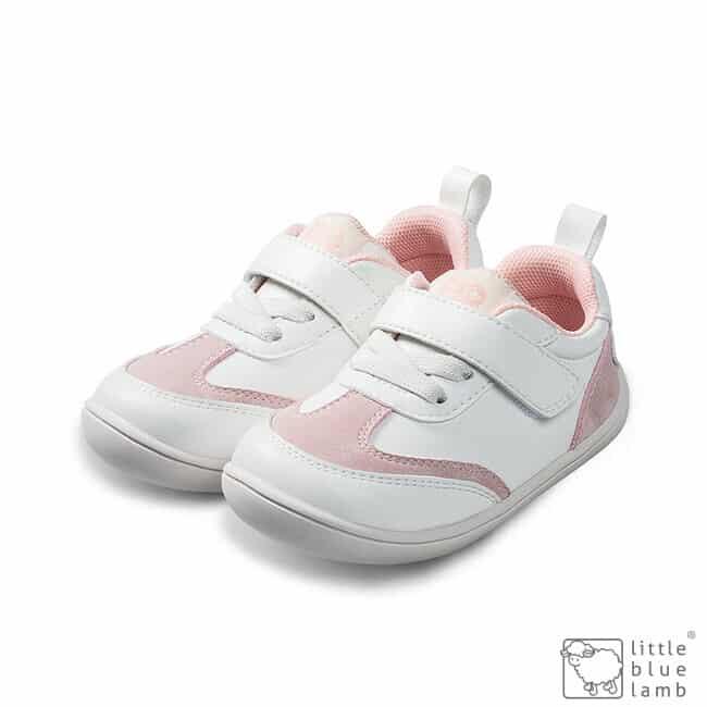 little blue lamb tenisky barefoot prve kroky detske parri pink