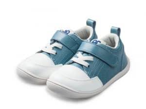 little blue lamb tenisky barefoot prve kroky detske pastel blue