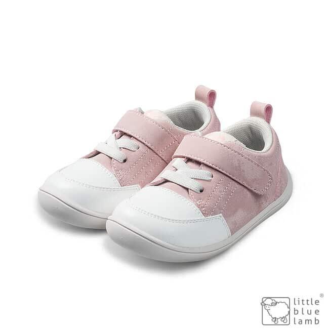 little blue lamb tenisky barefoot prve kroky detske pastel pink