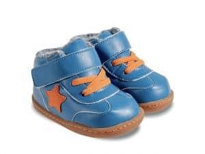 little blue lamb zimne topanky zimusmne barefoot zateplene prve kroky detske beck blue