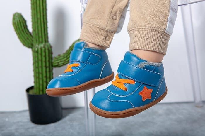 Little Blue Lamb - Beck Blue - Zimná obuv 3