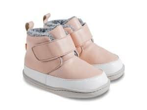 little blue lamb zimne topanky zimusne barefoot prve kroky detske big pink cizmy cizmicky