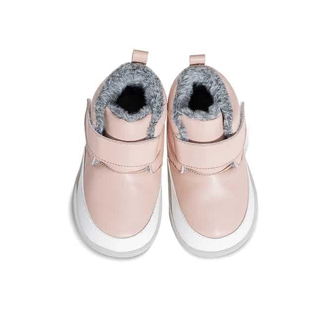 Little Blue Lamb - Big Pink - Zimná obuv 1