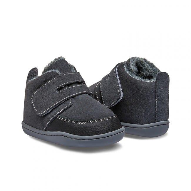 Little Blue Lamb - Biga Dark Grey - Zimná obuv 4