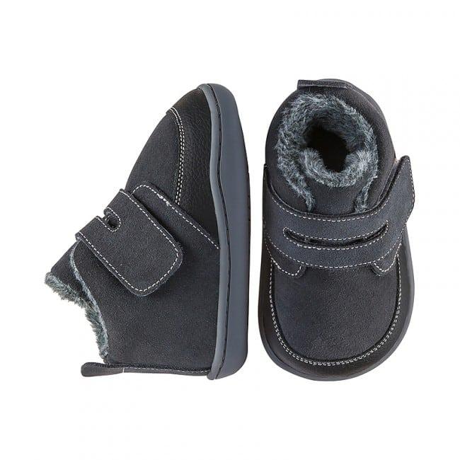 Little Blue Lamb - Biga Dark Grey - Zimná obuv 5