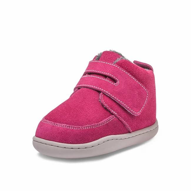 Little Blue Lamb - Biga Dark Pink - Zimná obuv 1
