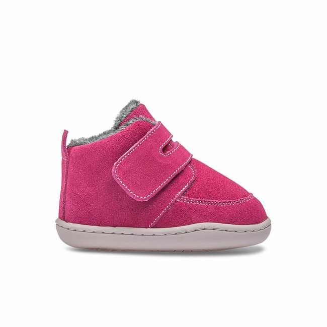 Little Blue Lamb - Biga Dark Pink - Zimná obuv 2