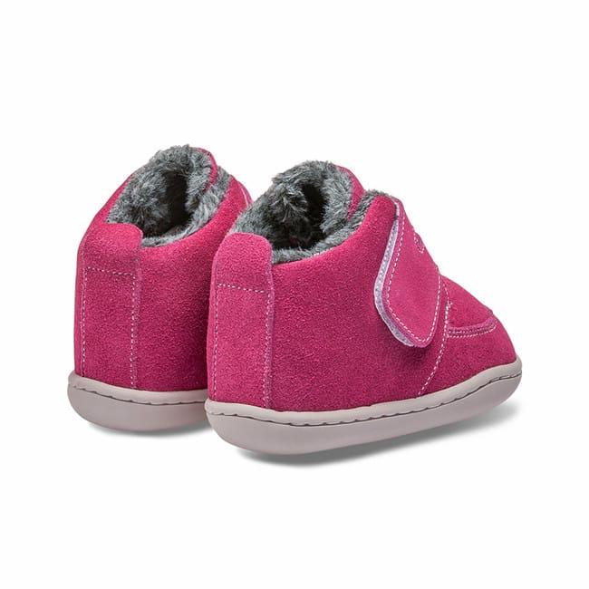 Little Blue Lamb - Biga Dark Pink - Zimná obuv 3