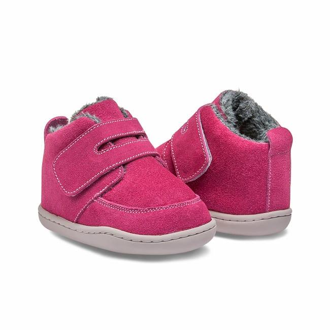Little Blue Lamb - Biga Dark Pink - Zimná obuv 4