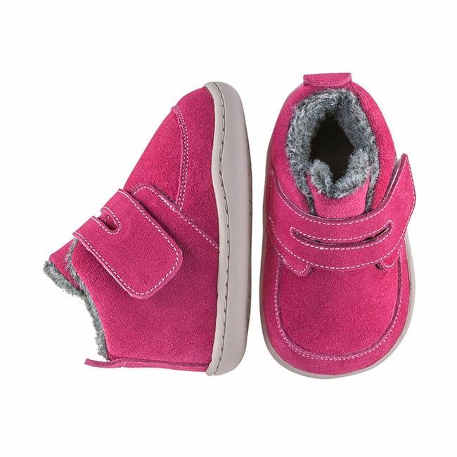Little Blue Lamb - Biga Dark Pink - Zimná obuv 5