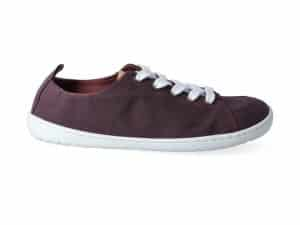 mukishoes low cut plum