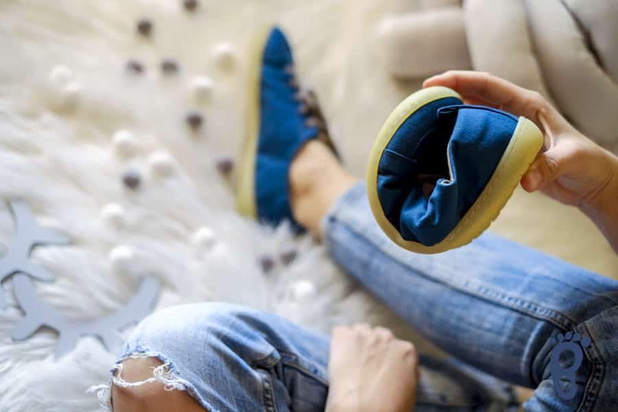 Vegan barefoot tenisky Mukishoes STORM. Štýlový barefoot poklad. 1