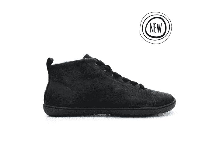 MUKISHOES - Zateplené topánky - RAW Leather Black 1