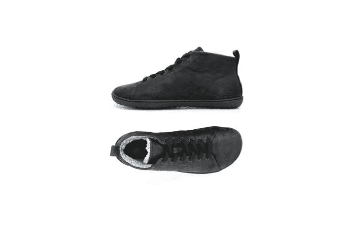 MUKISHOES - Zateplené topánky - RAW Leather Black 2