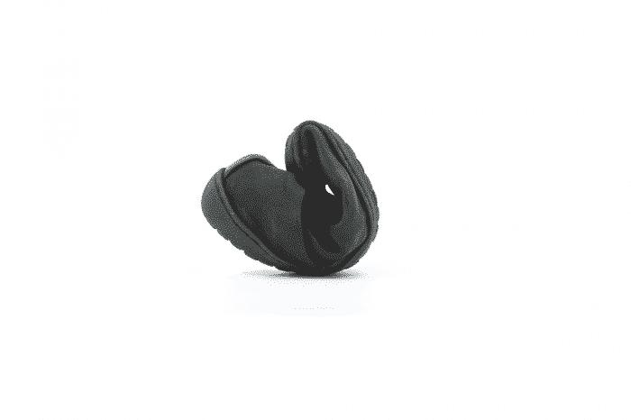MUKISHOES - Zateplené topánky - RAW Leather Black 4