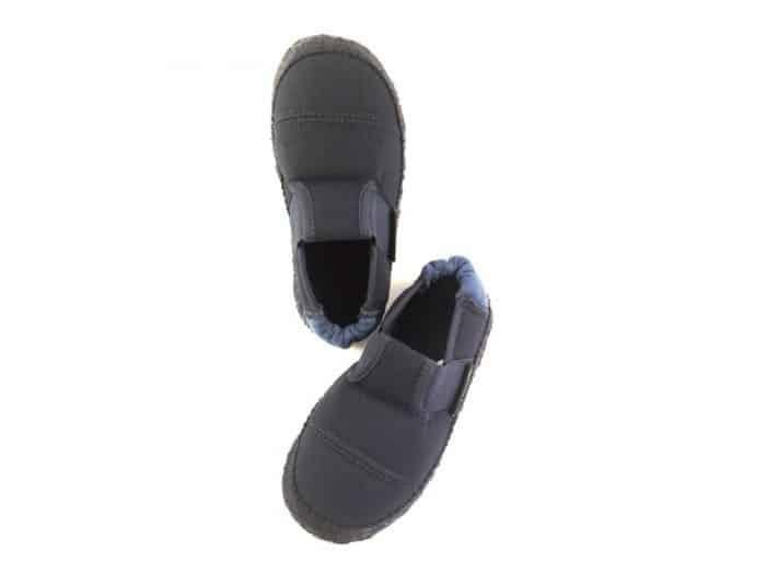 nanga papuce klette blau