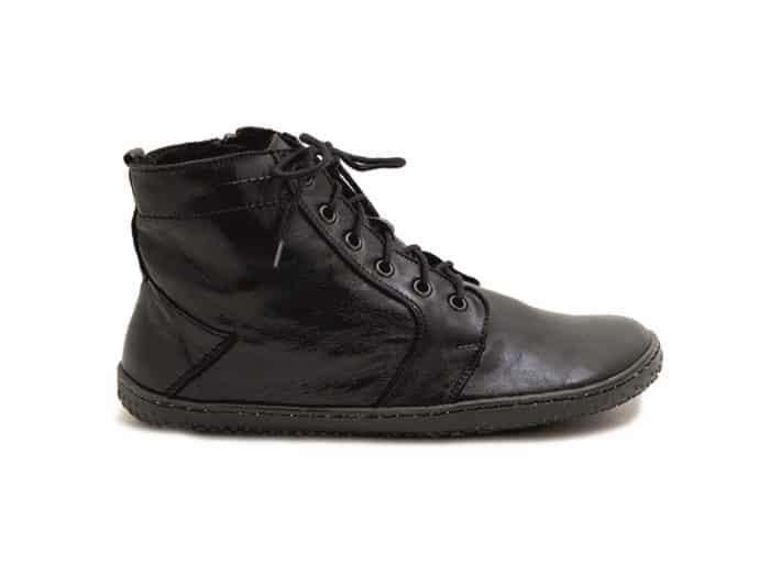 OK Barefoot - Zateplené dámske topánky - Devon Black 2