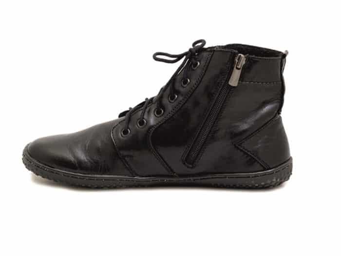 OK Barefoot - Zateplené dámske topánky - Devon Black 4