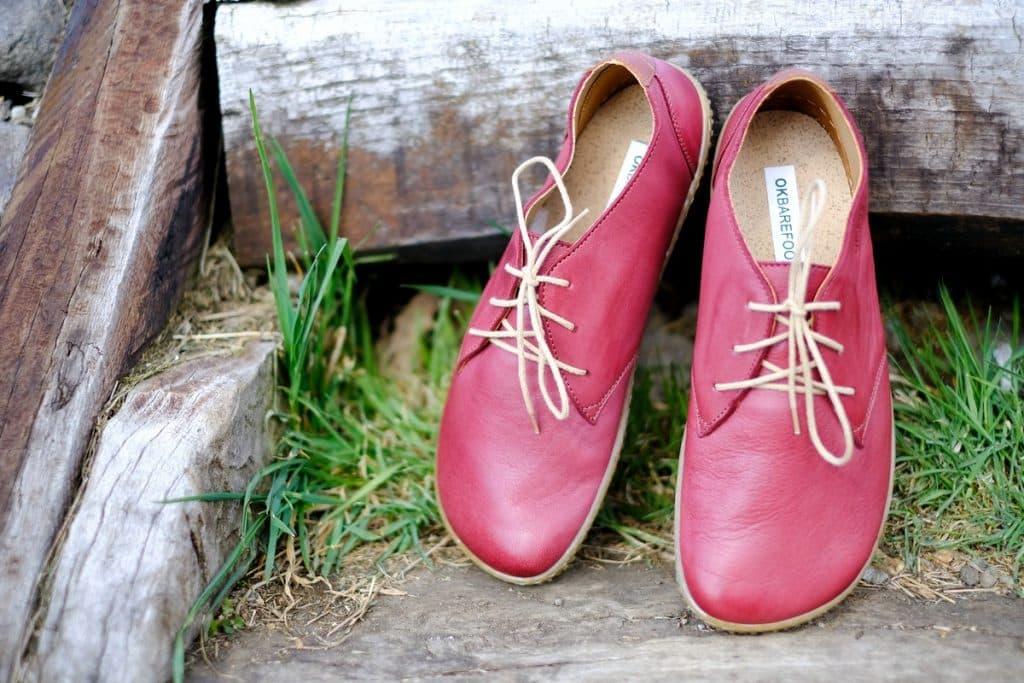 OKBarefoot - LIBERTY RED - Odchoďte si jar ako v bavlnke 1