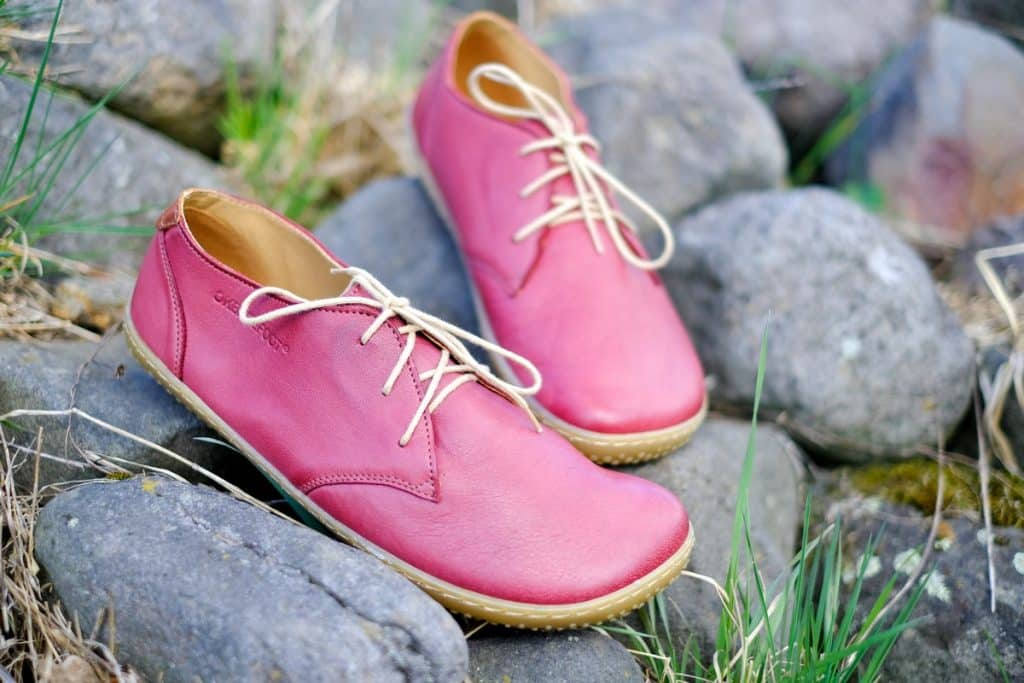 OKBarefoot - LIBERTY RED - Odchoďte si jar ako v bavlnke 5
