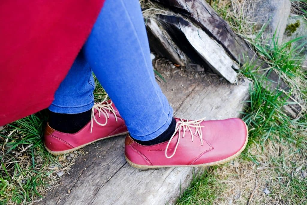 OKBarefoot - LIBERTY RED - Odchoďte si jar ako v bavlnke 6
