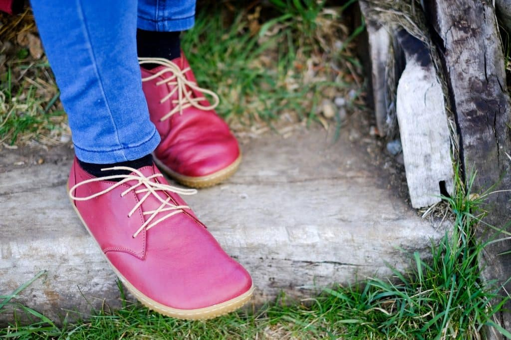 OKBarefoot - LIBERTY RED - Odchoďte si jar ako v bavlnke 7