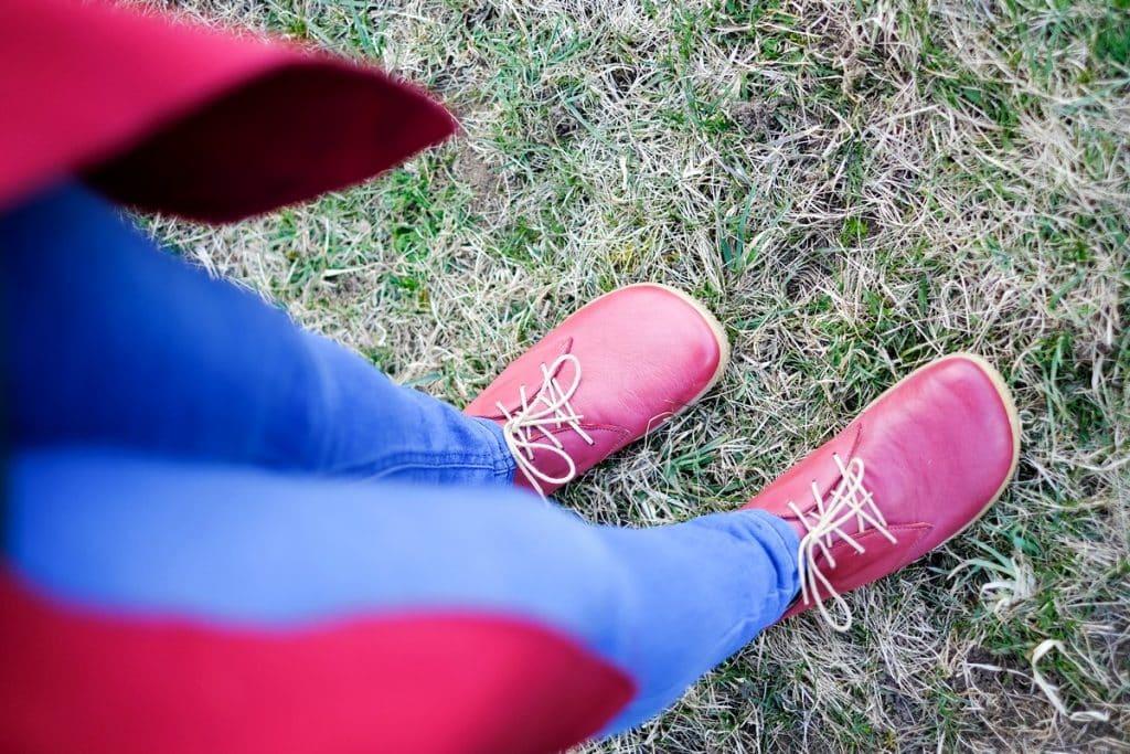 OKBarefoot - LIBERTY RED - Odchoďte si jar ako v bavlnke 10