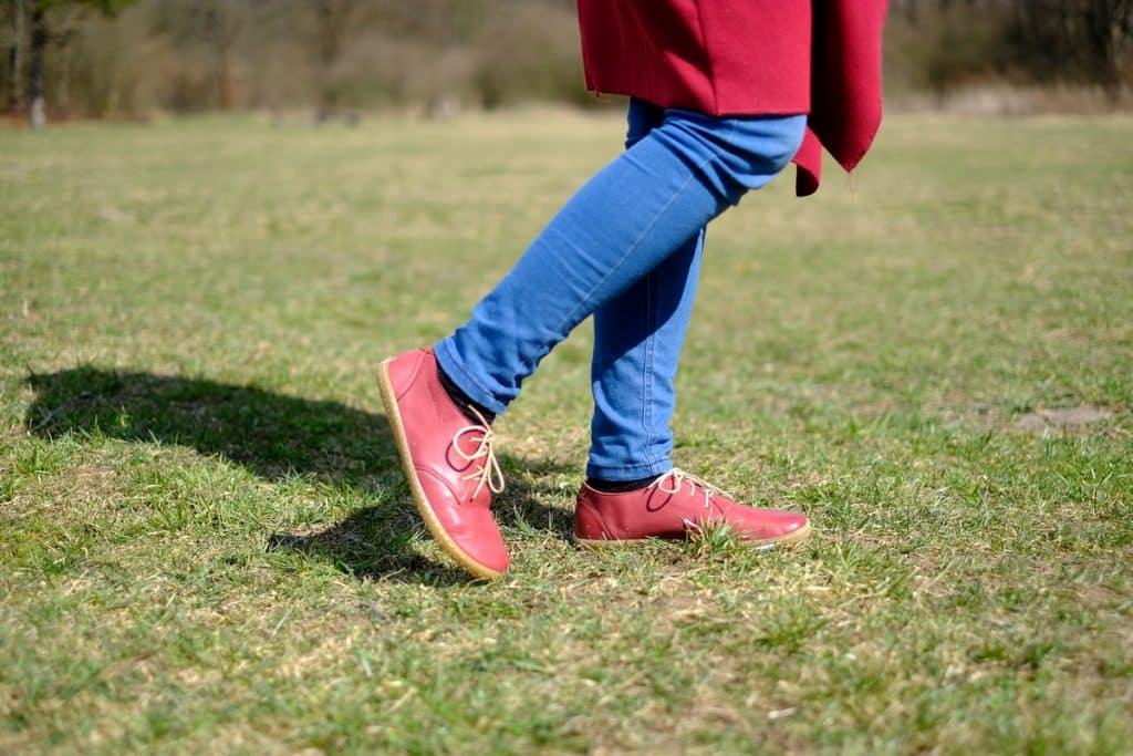 OKBarefoot - LIBERTY RED - Odchoďte si jar ako v bavlnke 11