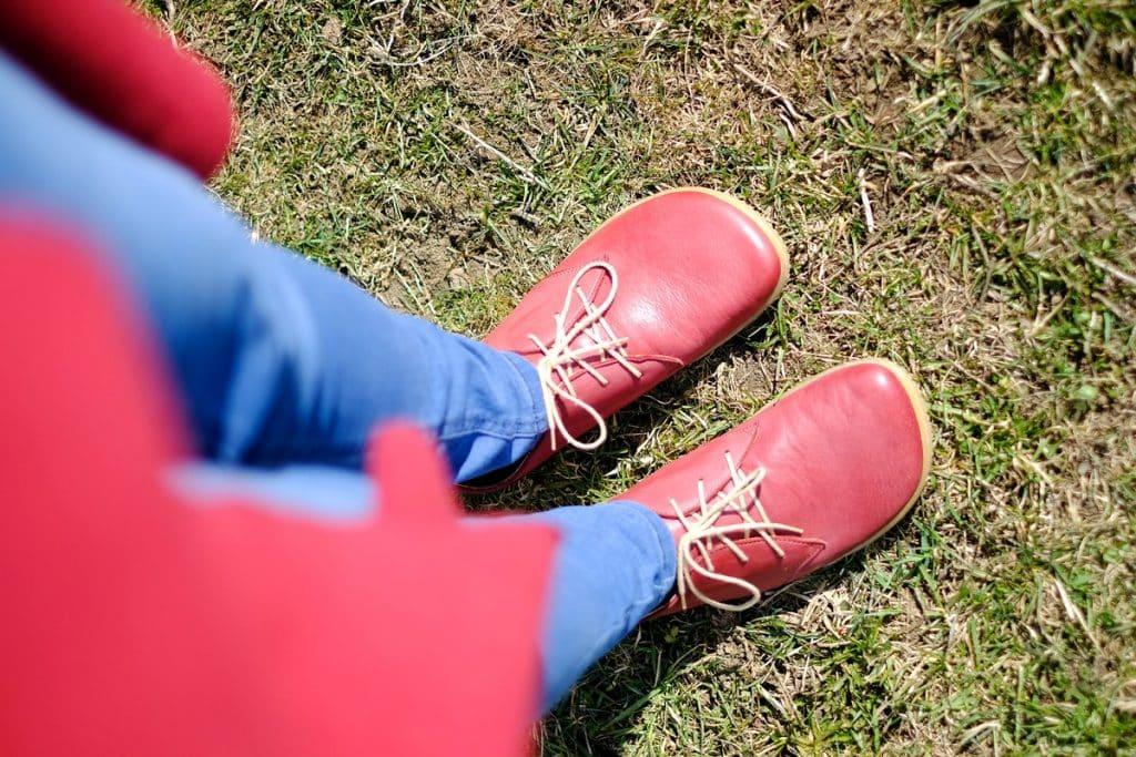 OKBarefoot - LIBERTY RED - Odchoďte si jar ako v bavlnke 12
