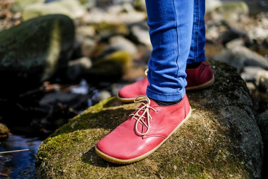 OKBarefoot - LIBERTY RED - Odchoďte si jar ako v bavlnke 13