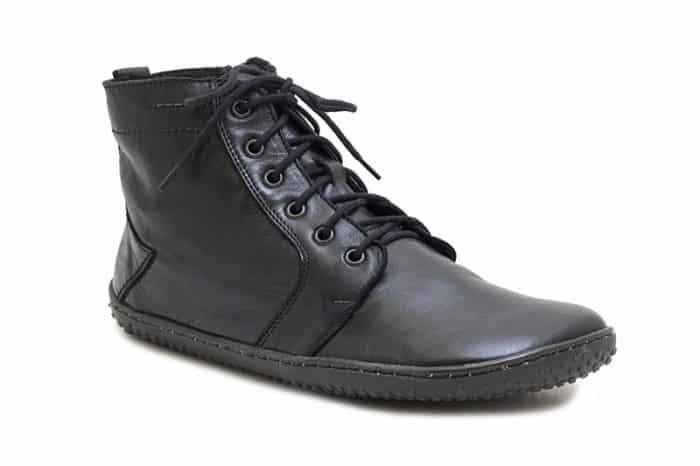 OK Barefoot - Zateplené dámske topánky - Devon Black 1