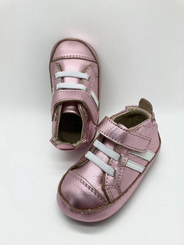 old soles barefoot topanky pre dievcata dievcenske high roller shoe pink snow