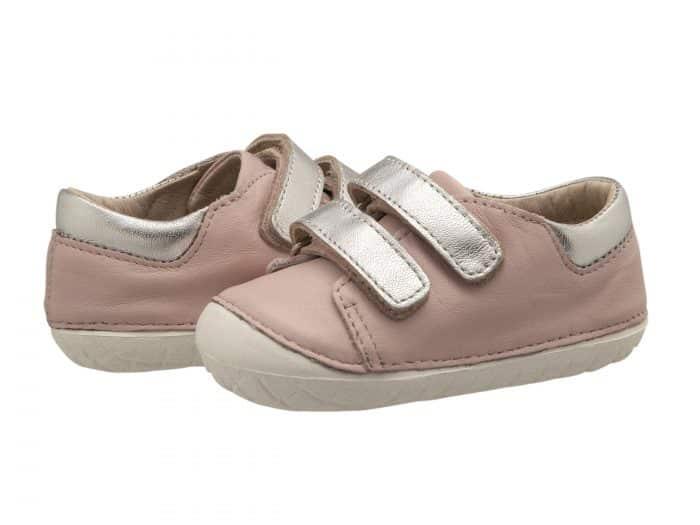 Old Soles - Insta - Kick - Powder Pink/Silver 1