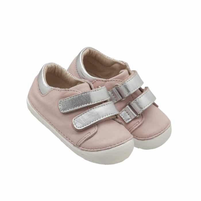 Old Soles - Insta - Kick - Powder Pink/Silver 2