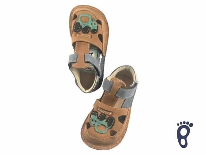 OrtoPlus - Detské sandále - Ithaka H - S autíčkom 1