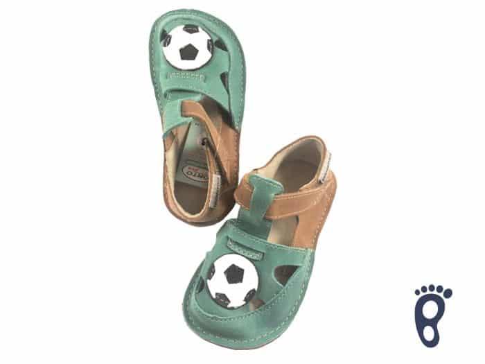 OrtoPlus - Detské sandále - Ithaka H - Zelené s loptou 1