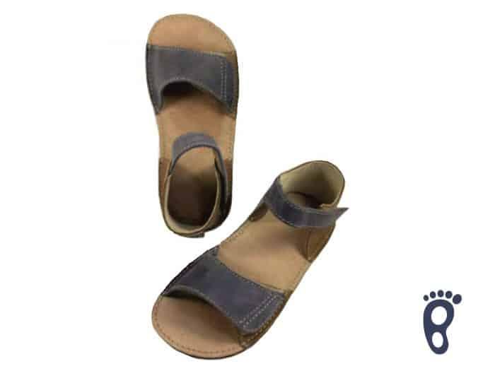 OrtoPlus - Detské sandále - Mirrisa G - Hnedo-modré 1