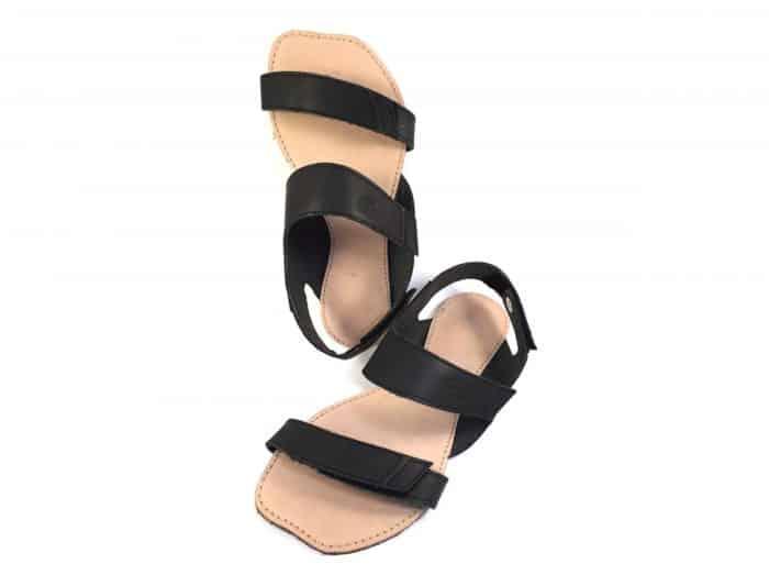 ortoplus sandale damske cierne